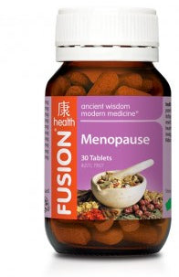 FUSION Menopause 2500mg 30tabs - Natural Food Barn