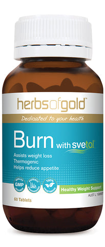 Herbs of Gold BURN 60T - Natural Food Barn