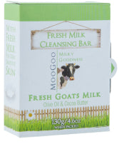 MOOGOO SOAP GOATSMILK 130G - Natural Food Barn