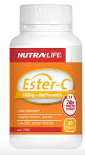 NUTRALIFE ESTER-C 1500MG 120T - Natural Food Barn