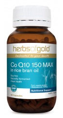 Herbs of Gold CO Q10 150MG 60C - Natural Food Barn