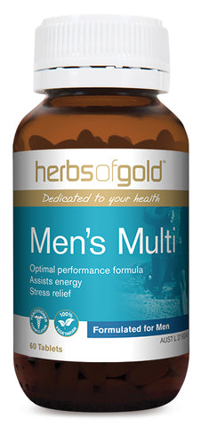Herbs of Gold MENS MULTI 60T - Natural Food Barn