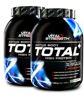 VITAL STRENGTH TOTAL PROTEIN 1.5KG VANILLA - Natural Food Barn