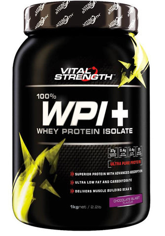 VITAL STRENGTH WPI PLUS 1KG CHOCOLATE - Natural Food Barn