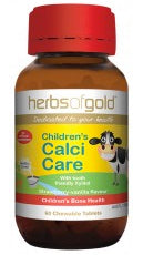 Herbs of Gold CHILDREN CALCI CARE 60CT - Natural Food Barn