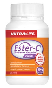 NUTRALIFE ESTER C 250G - Natural Food Barn