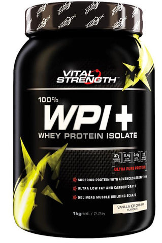 VITAL STRENGTH WPI PLUS 1KG VANILLA - Natural Food Barn