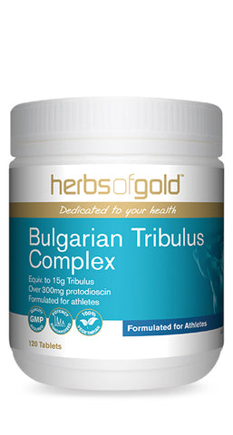 Herbs of Gold BULGARIAN TRIBULUS 120T - Natural Food Barn