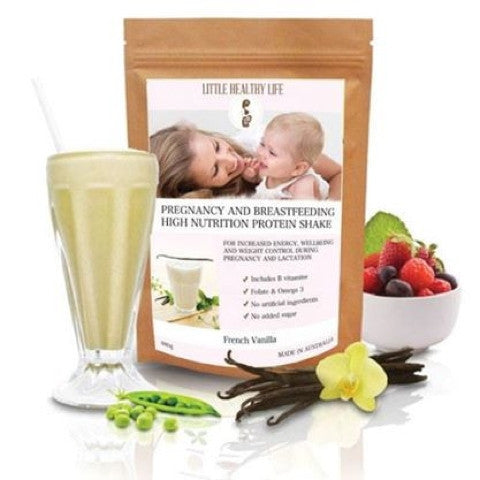 LITTLE HEALTHY LIFE PREGNANCY VANILLA 480G - Natural Food Barn