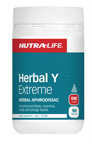 NUTRALIFE HERBAL Y EXTREME FOR MEN 100T