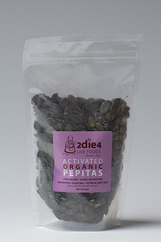 2DIE4 ACTIVATED PEPITAS 100GM - Natural Food Barn