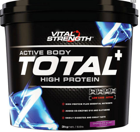 VITAL STRENGTH TOTAL PROTEIN 3KG CHOCOLATE - Natural Food Barn