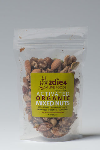 2DIE4 ACTIVATED MIXED NUTS 120GM - Natural Food Barn