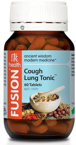 FUSION Cough Lung Tonic 60T - Natural Food Barn