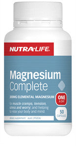 NUTRALIFE ORGANIC MAGNESIUM COMP 180T - Natural Food Barn