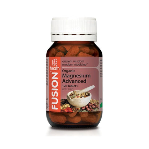 FUSION Magnesium Advanced 120T - Natural Food Barn