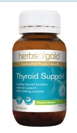 Herbs of Gold THYROID SUPPORT 60T - Natural Food Barn