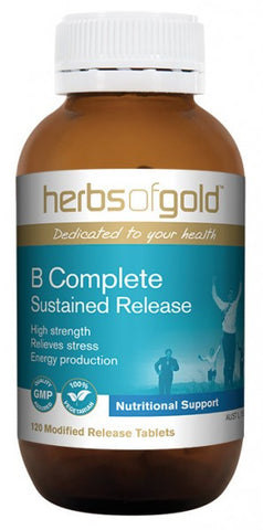 Herbs of Gold B Complete 60T - Natural Food Barn