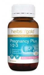 Herbs of Gold PREGNANCY PLUS 60T - Natural Food Barn