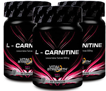 VITAL STRENGTH L-CARNITINE 60C - Natural Food Barn