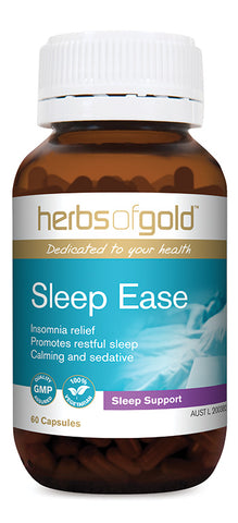 Herbs of Gold SLEEP EASE 60VC - Natural Food Barn