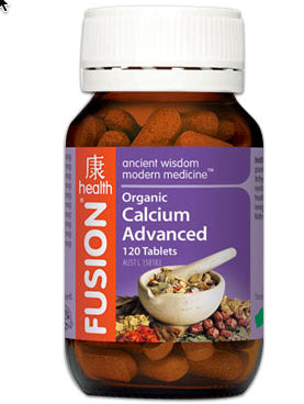 FUSION Calcium Advanced 120T - Natural Food Barn