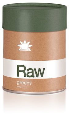 AMAZONIA RAW GREENS 120G - Natural Food Barn