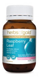 Herbs of Gold RASPBERRY LEAF 60T - Natural Food Barn