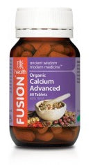 FUSION Calcium Advanced 60T - Natural Food Barn