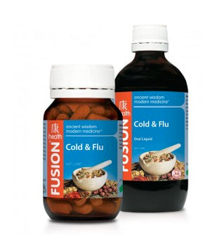 FUSION Cold Flu 100ml - Natural Food Barn