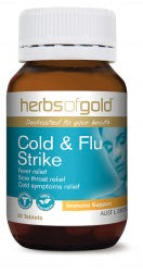 Herbs of Gold COLD & FLU STRIKE 30T - Natural Food Barn
