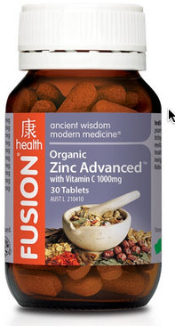 FUSION Zinc Advanced 30T - Natural Food Barn