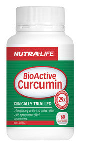 NUTRA LIFE BIOACTIVE CURCUMIN 60C - Natural Food Barn