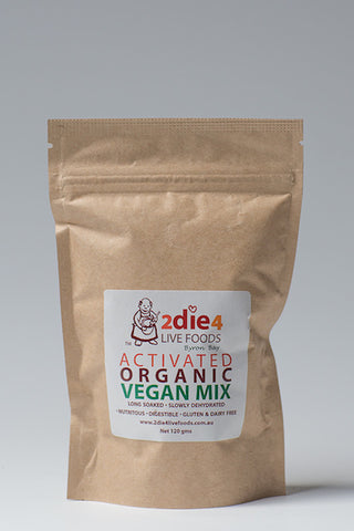 2DIE4 ACTIVATED VEGAN MIX 120GM - Natural Food Barn