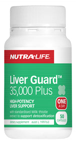 NUTRALIFE LIVERGUARD 100C - Natural Food Barn