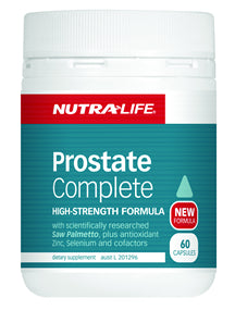 NUTRALIFE PROSTATE COMP 60C - Natural Food Barn