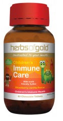 HERBS OF GOLD CHILD IMMUNE 60C - Natural Food Barn
