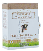 MOOGOO SOAP BUTTERMILK 130G - Natural Food Barn
