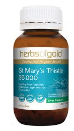 Herbs of Gold ST MARYS THISTLE 60T - Natural Food Barn