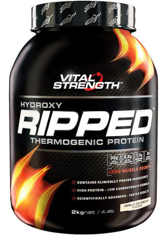 VITAL STRENGTH HYDROXY RIPPED 2KG VANILLA - Natural Food Barn