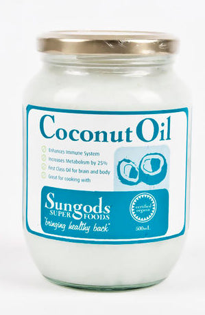 SG COCONUT OIL 1L - Natural Food Barn