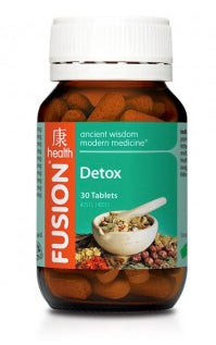 FUSION Detox 60tabs - Natural Food Barn