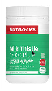 NUTRALIFE MILK THISTLE 17000 60C - Natural Food Barn