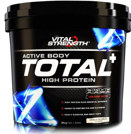 VITAL STRENGTH TOTAL PROTEIN 3KG VANILLA - Natural Food Barn