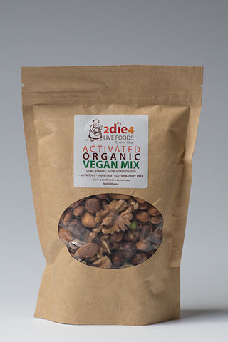 2DIE4 ACTIVATED VEGAN NUTS 300GM - Natural Food Barn