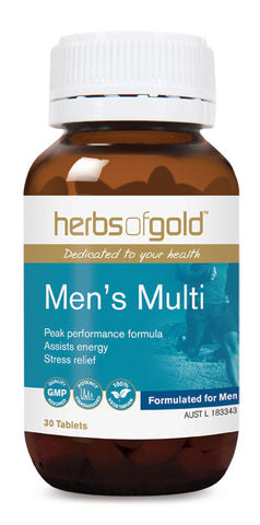 Herbs of Gold MENS MULTI 30T - Natural Food Barn