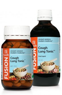 FUSION Cough Lung 30T - Natural Food Barn
