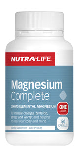 NUTRALIFE MAGNESIUM COMPLETE 100C - Natural Food Barn