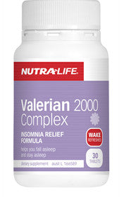 NUTRALIFE VALERIAN 2000 60T - Natural Food Barn