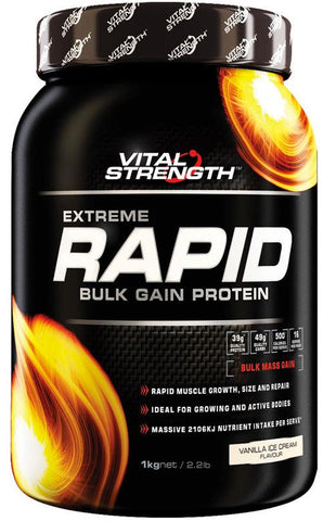 VITAL STRENGTH RAPID GAINER 1KG VAN - Natural Food Barn